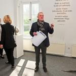 André Kirbach eröffnet die Ausstellung