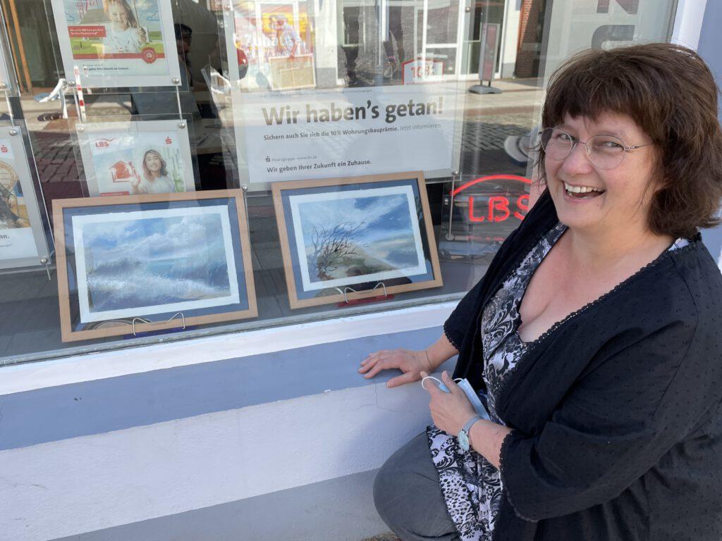 Künstlerin Frauke Heyen